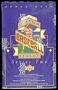 1993 Upper Deck Baseball, Series TWO Sealed Box