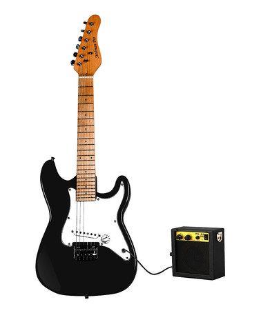 Look what I found on #zulily! Black 32'' Electric Guitar & Amplifier Set #zulilyfinds $69.99
