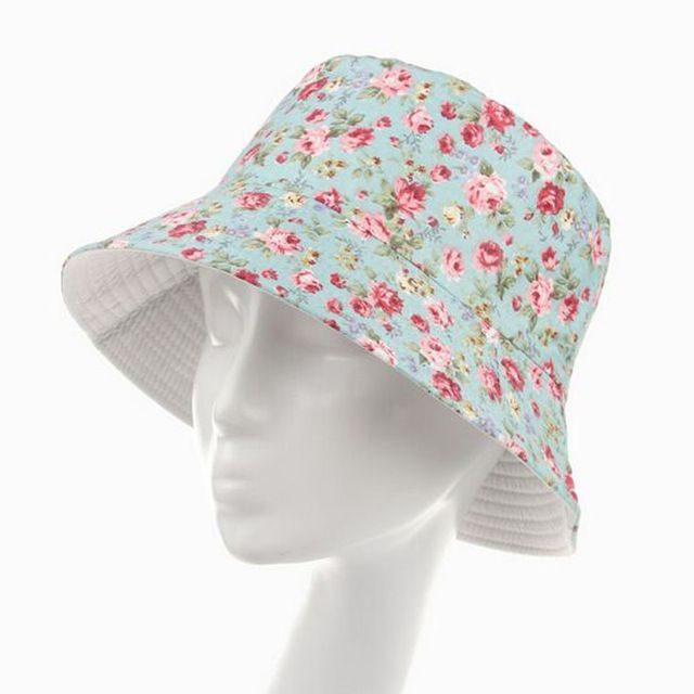 New 2016 Fashion Floral Bucket Hat Size 57-59cm Chapeau Fishing Hats for Women Summer Sun Hat Caps 10 Models HT51040+35 #KLV #Bucket_Hats #women_clothing #stylish_Bucket_Hats #style #fashion