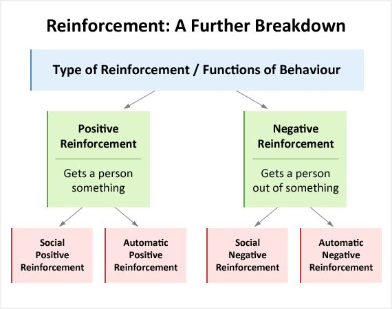 positive reinforcement research papers Skinners operant conditioning theory  and negative positive reinforcement (reward) involves a positive consequence of behaviour  through his research in.