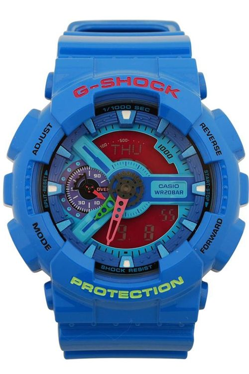 Now that is BLUE!!! I do like this full on primary colours on G-Shock watches
