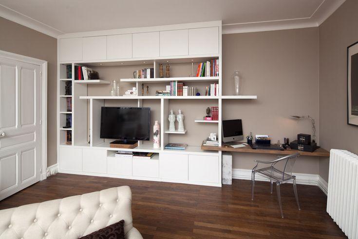 les 25 meilleures id es de la cat gorie t l vision murale sur pinterest unit s murales tv. Black Bedroom Furniture Sets. Home Design Ideas