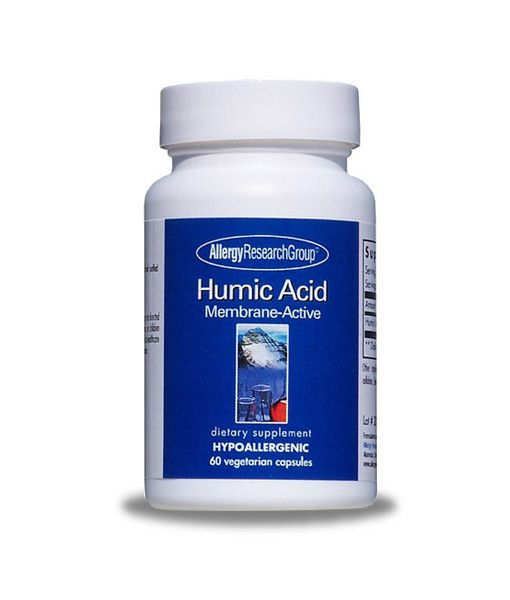 ontains a specially extracted and purified humic acid that will bind to both positive and negatively charged ions, making it a powerful free-radical scavenger and natural immune support. Although infections like EBV and HSV don't leave your body, Humic Acid can help to decrease your body's viral load. This will make reactivation less likely.