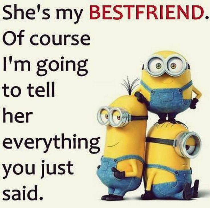 Cool Quotes About Friendship 2: Funny Minions With Cool Quotes (04:24:20 AM, Friday 15