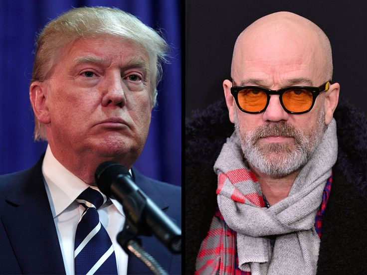 """R.E.M. Frontman Blasts Trump and Pals in Profane Tirade for Using His Song at Political Rally ---  """"Go f--- yourselves, the lot of you – you sad, attention-grabbing, power-hungry little men,"""" frontman Michael Stipe said in an email to The Daily Beast. """"Do not use our music or my voice for your moronic charade of a campaign.""""..."""