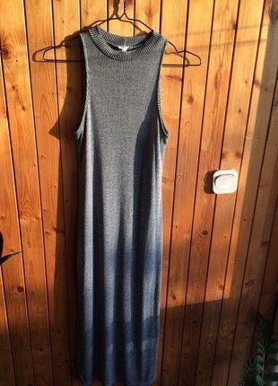 Kup mój przedmiot na #vintedpl http://www.vinted.pl/damska-odziez/tuniki/16923882-tunika-rozciecia-z-boku-golf-polgolf-prazki-szara-idealny-stan