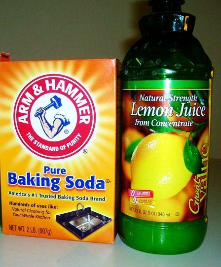 Nail baking soda treatment &; Whiter nails
