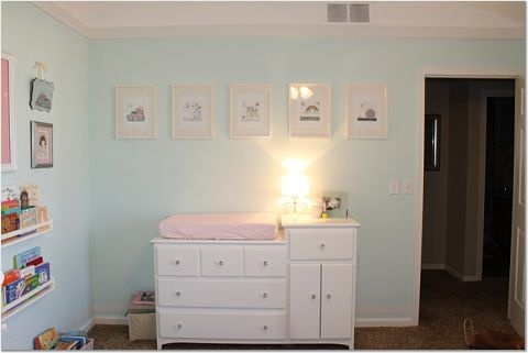 Sherwin williams buoyant blue thee home pinterest for Baby blue bathroom ideas