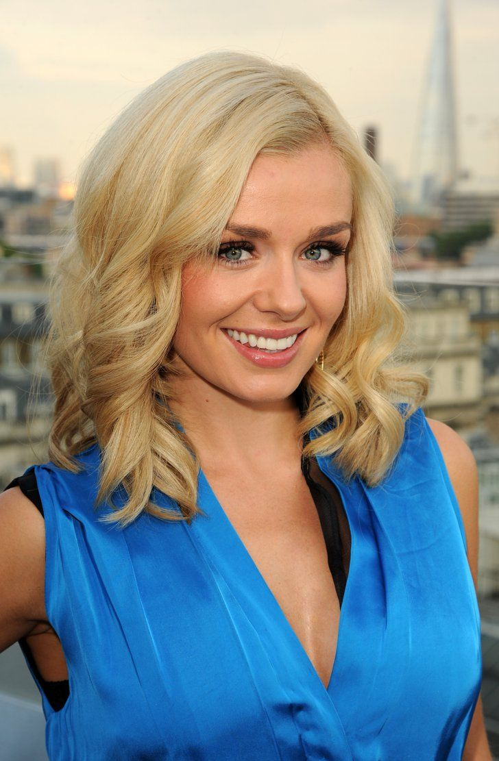 Pin for Later: The Clavicut — the Best Celebrity Midlength Hairstyles Katherine Jenkins