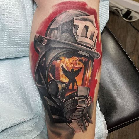 Artist- @rodney_eck Be sure to check out our website www savepaperinkme.com Also Follow @coverup_tattoos @savepaperinkme @savepaperinkmetattoo @tattoos_miami #firedepartment #rescue #firefighter #firetruck #fire #firedept #fireman #firerescue #firstresponders #fires #HashmeApp #sirens #amazing #love #rapel #firefighting #medic #art #forest #waw #chive #emt #nj #today #colours #america #usa