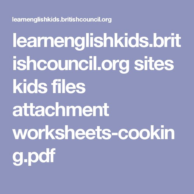 learnenglishkids.britishcouncil.org sites kids files attachment worksheets-cooking.pdf