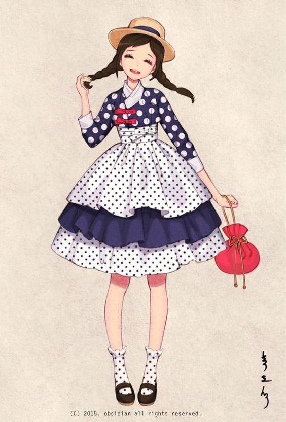 한복 HANBOK, Korean traditional clothes #hanbok   Digital drawing, 2015 South Korea Homepage : Woohnayoung.com Contact : woohnayoung@gmail.com Facebook : www.facebook.com/woohnayoung Twitter : twitter.com/00obsidian00 Tumblr :woohnayoung.tumblr.com/ Pixiv : pixiv.me/obsidian24 Deviantart: theobsidian.deviantart.com/: