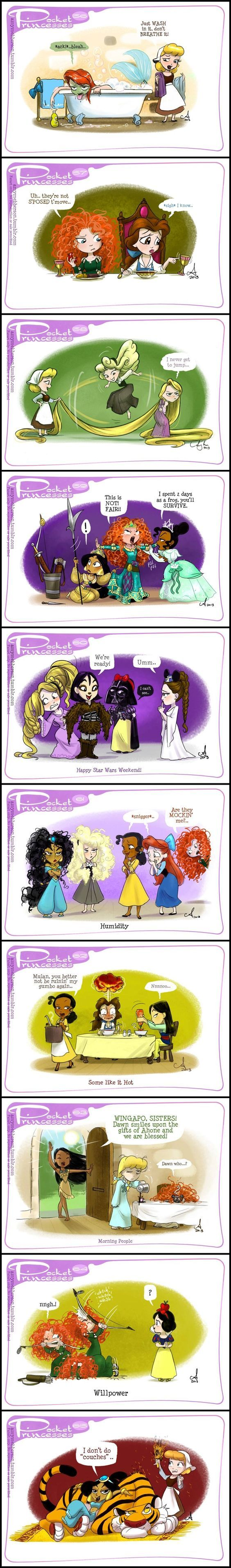 Pocket Princesses (Part 6) by Amy Mebberson: