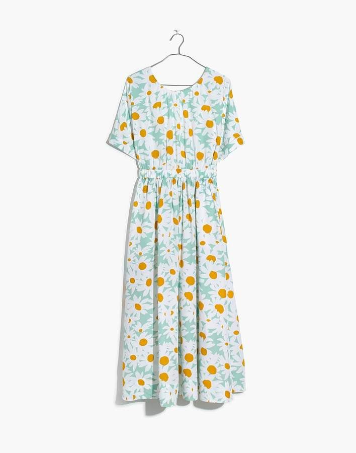 73f155954827 Madewell Tie-Back Maxi Dress in Mini Daisy in 2019 | Products ...