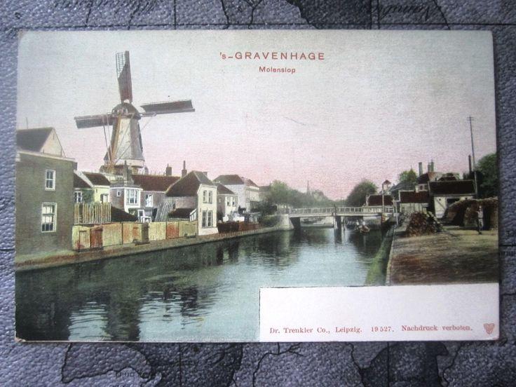 Netherlands, Gravenhage, Molenslop. Windmill. Unposted. | eBay