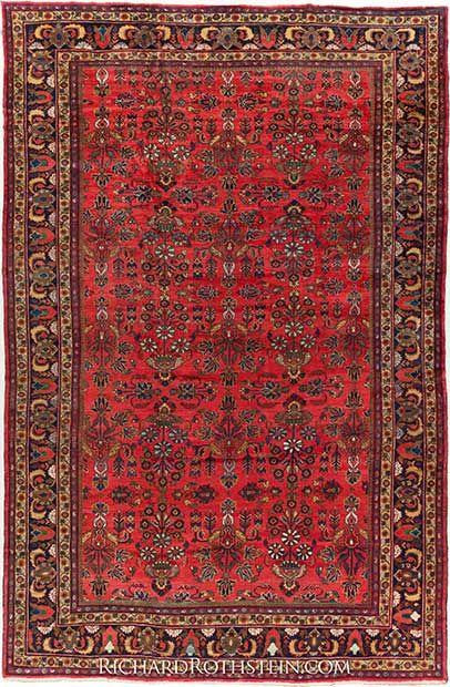 Mahal Antique Oriental Rug C59d8581