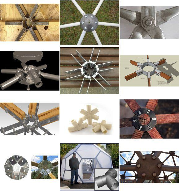 Geodesic Hub Connector Systems Gallery