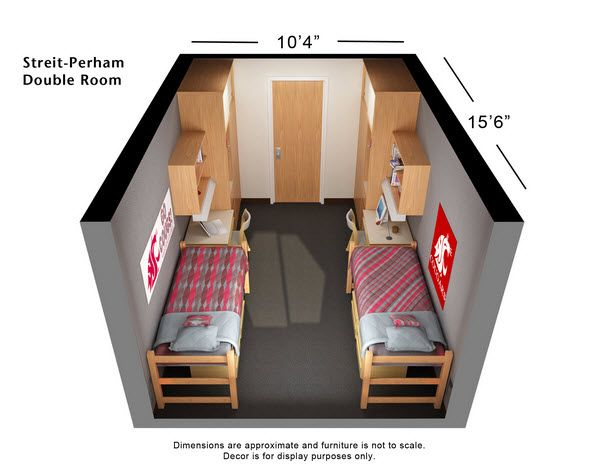 My Son's College Dorm Room Dimensions - Dorm Essentials and College Apartments: What They Really Need ad