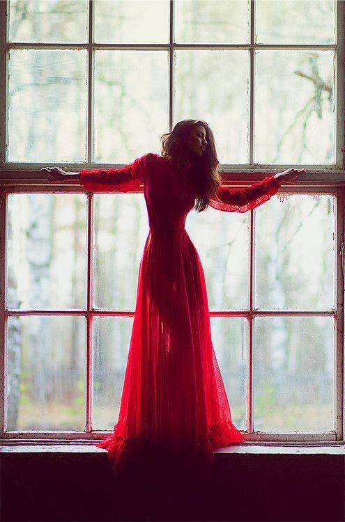 INSPIRA DNIA: czerwona sukienka