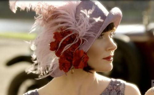 Essie Davis as Phryne Fisher in Miss Fisher's Murder Mysteries