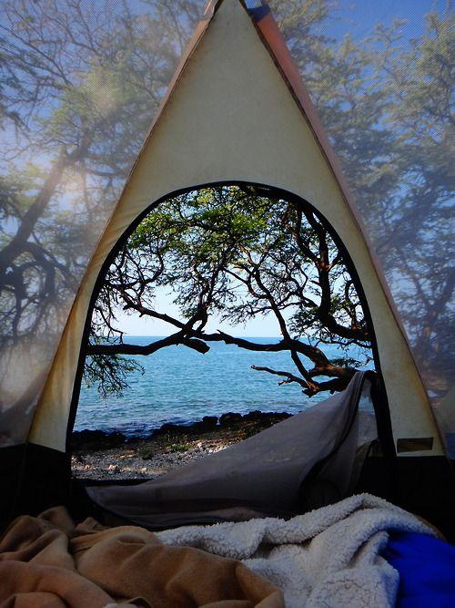 memories of camping (happy)