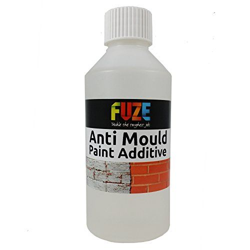 Anti-Mould paint additive. Additive for paint. Concentrated formula 250 ml treats up to 12 litres of paint. Make your own mould resistant paint