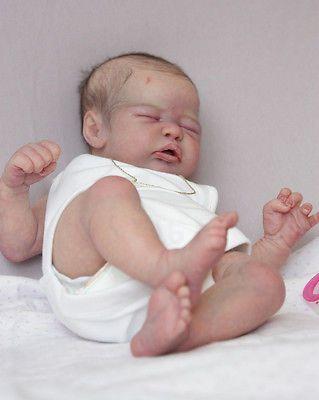 Custom Quinlynn by Laura Lee Eagles (SOLE) Reborn by Sweet Little Bubs Nursery