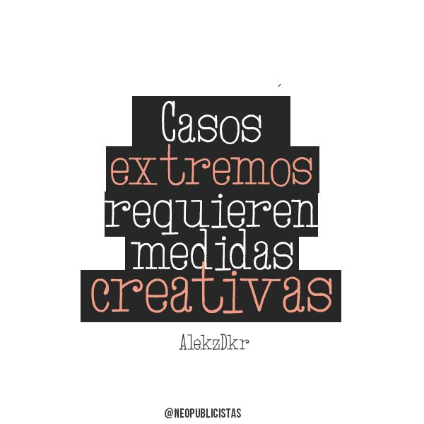 #inspiración #creatividad #quotes #frases