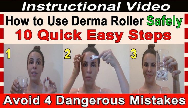 How to Use a Derma Roller Safely - 10 Easy Steps to Quickly Treat Wrinkl...