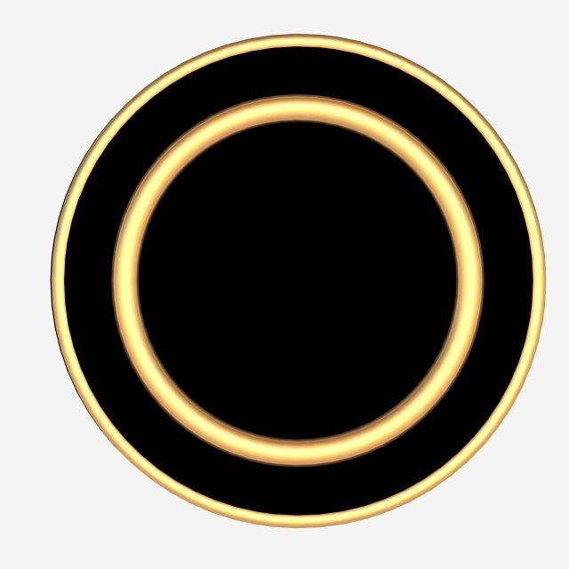 Black Gold Circle Border Circle Black Gold Border Png Transparent Clipart Image And Psd File For Free Download Circle Borders Circle Poster Background Design
