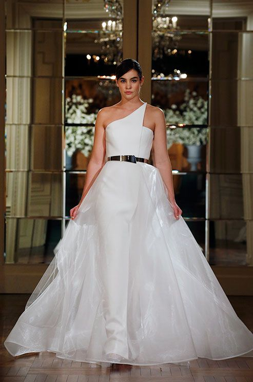 For a modern bride. Romona Keveza Collection, Spring 2015