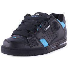 Globe Sabre Uomo Leather & Suede Black Skate Scarpe nuovo Scarpe