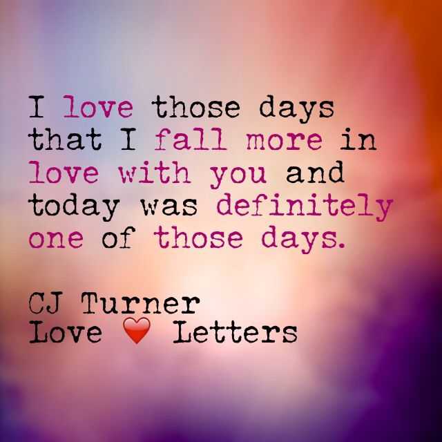 Quotes About Love Letters : Love letters love quotes original love Quotes by CJ Turner