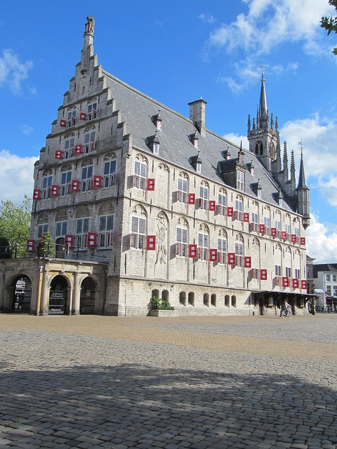 Gouda, Netherlands - Hôtel de Ville. Go to www.YourTravelVideos.com or just click on photo for home videos and much more on sites like this.