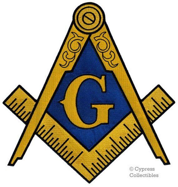 Masonic Patches Square /& Compass Patch Royal Arch Patches 5 pcs Triple Tau