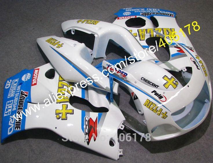 389.00$  Buy here - http://aliz1t.shopchina.info/go.php?t=2046302197 - Hot Sales,GSXR Parts For SUZUKI GSXR600 GSXR750 96 97 98 99 00 GSXR600 GSXR750 1996-2000 RIZLA  ABS Pressing Mould Fairings 389.00$ #buymethat