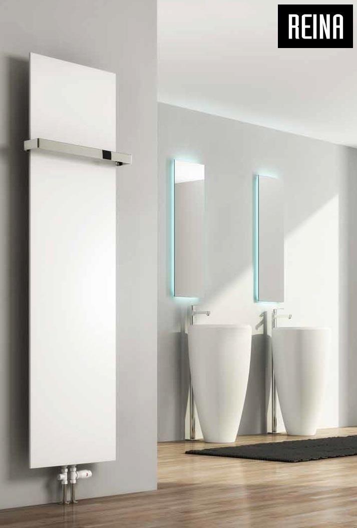 Grzejnik pionowy dekoracyjny SLIMLINE VERTICAL»Grzejniki łazienkowe