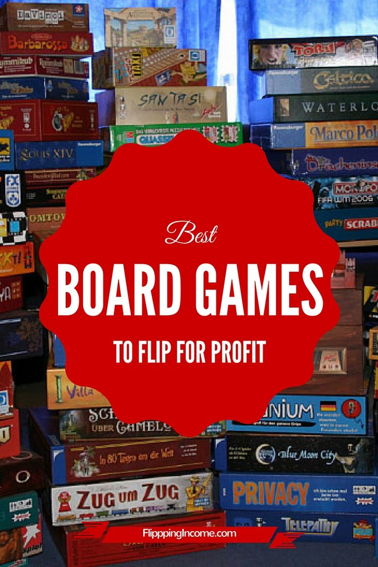 Best board games to flip for profit