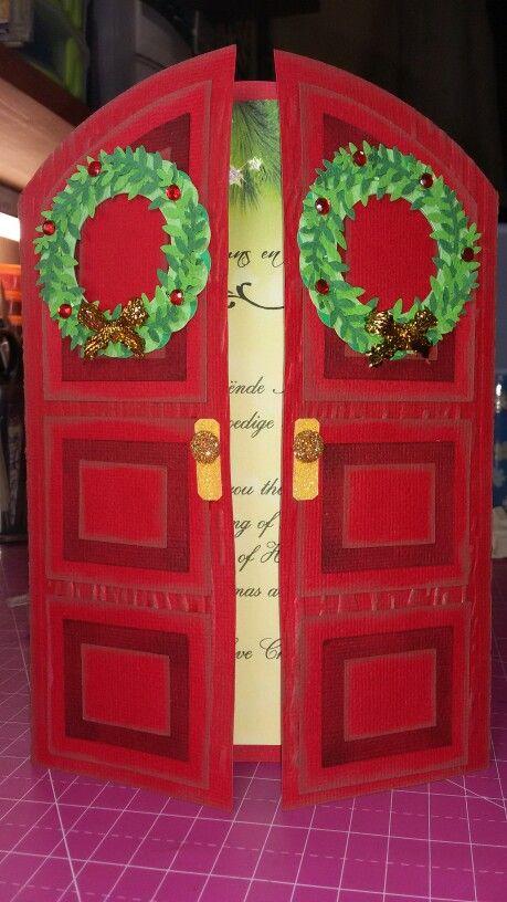 Xmas card doors