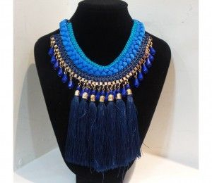 CL-0165 collar azul $495