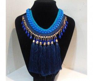 CL-0165 collar azul $495