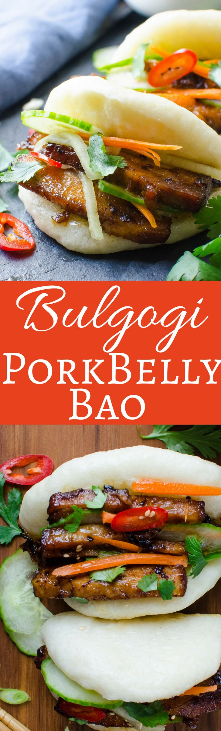 This easy recipe for Asian Steamed Pork Buns is a winner! Bulgogi Pork Belly Bao gets its flavor from a spicy, sweet savory marinade that will have you licking your fingers and going back for more!