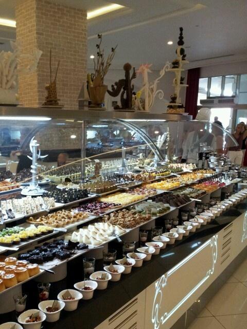 Sweet food @ Hotel Delphin Imperial, Turkey