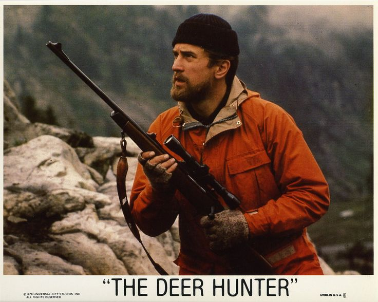 Russian roulette scene 1978 deer hunter