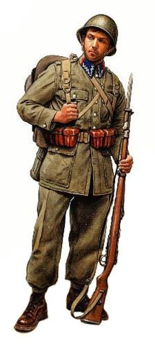Soldado Polaco, Infantería, 1939.