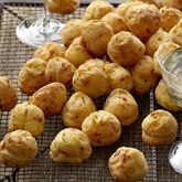 Cheese & Prosciutto Puffs