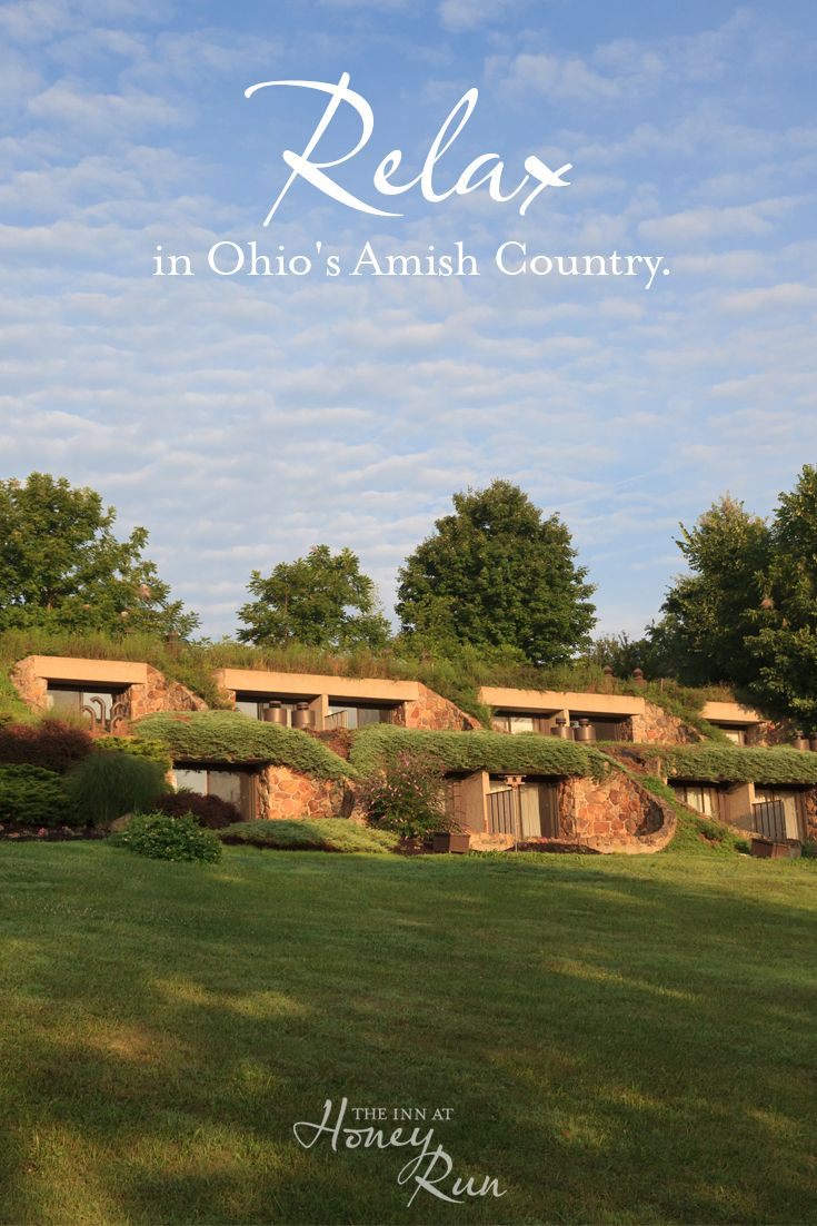 Start planning your perfect country getaway in Ohio's most breathtaking and serene setting!  The Inn at Honey Run is a boutique hotel that offers a peaceful, woodland escape among the rolling hills of Ohio's Amish Country.  Enjoy fine dining and a seasonal menu at Tarragon.