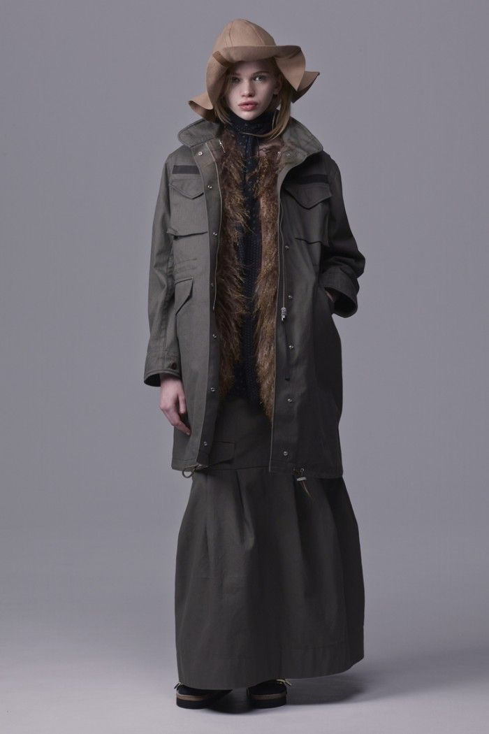 Military Style (13) Sacai Luck pre -fall