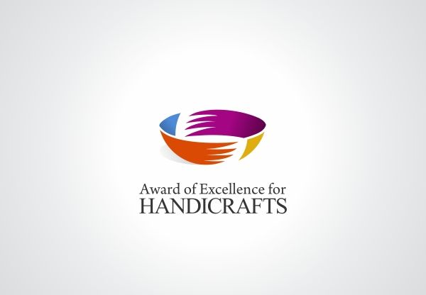 """""""Proposal developed for the contest sponsored by the UNESCO Network Design21. The #logo depicts the process of handmade ceramic production, one of the oldest artifacts produced by the human being, formed from the union of two hands, the colors represent the diversity of cultures that survive through craft production"""""""