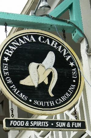 Banana Cabana - Isle of Palms SC - sounds stupid - most amazing chinken tenders  (with ranch)   and the fries...LOVE the fries! Of course it all goes well with the music and ocean breeze. Can't miss pub food big portions great prices.